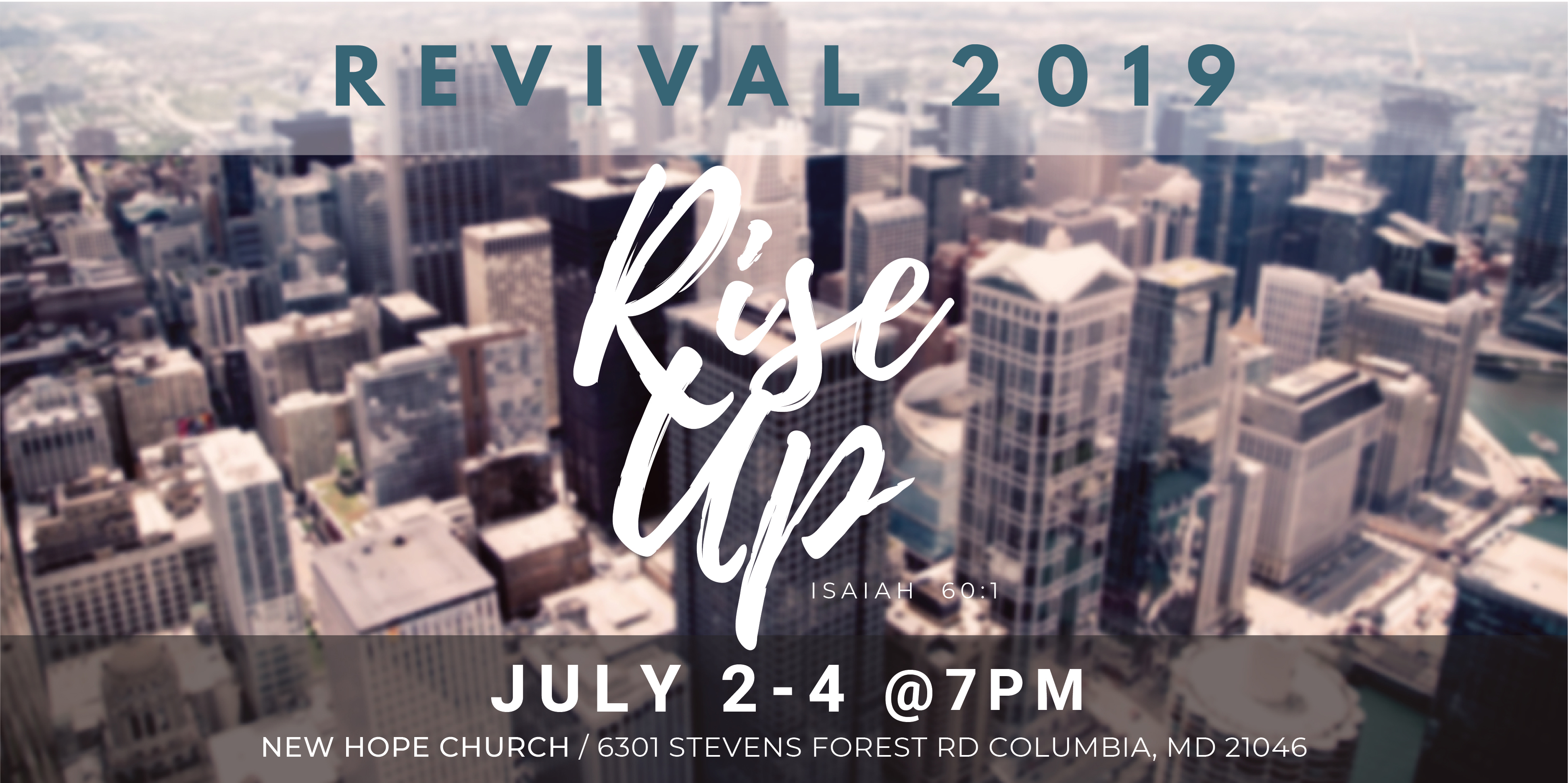 Rise Up Revival / English